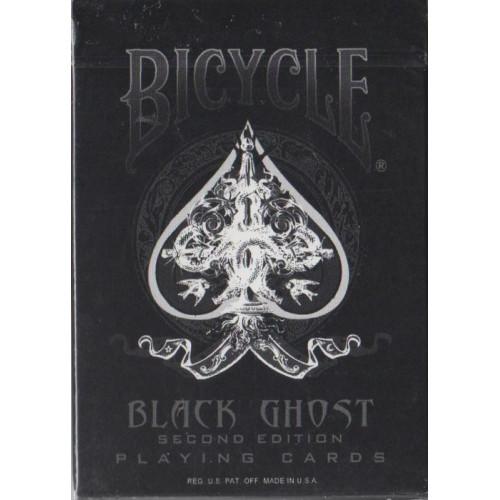 54 Cartes Bicycle Black Ghost