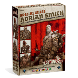 Zombicide Black Plague : Special Guest : Adrian Smith