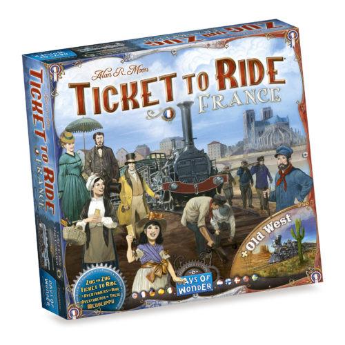 Aventuriers du Rail : France & Old West