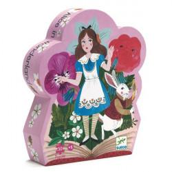 Puzzle : 50 pièces - Alice au Pays des Merveilles