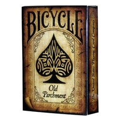 54 Cartes Bicycle : Old Parchment