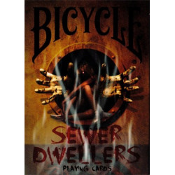 54 Cartes Bicycle Sewer Dwellers