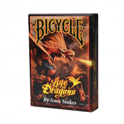 54 Cartes Bicycle Ann Stock age of Dragons