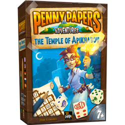 Penny Paper Aventures : The Temple of Apikhabou