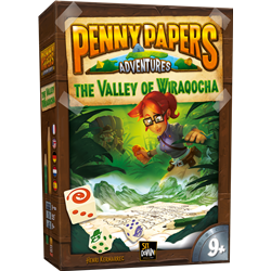 Penny Paper Aventures : The Valley of Wiraqocha
