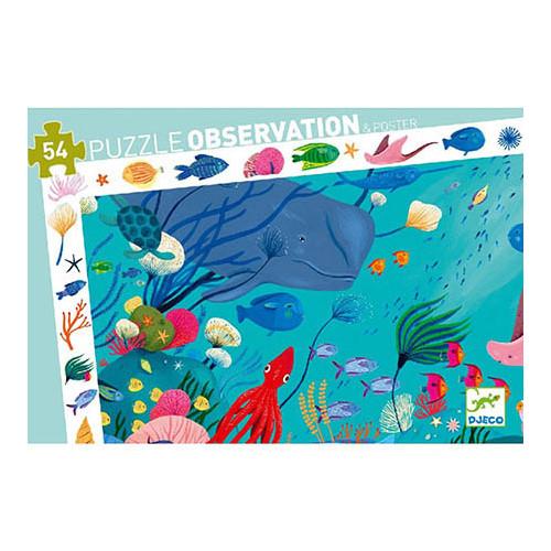 Puzzle : 54 pièces - Aquatique