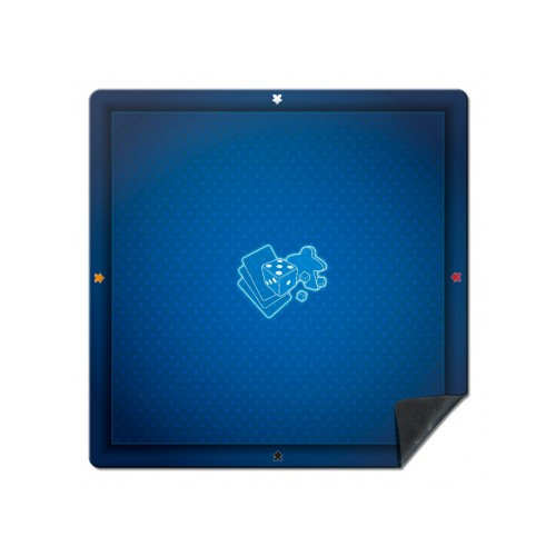 Tapis de jeu Universel : Meeple Bleu 60x60cm