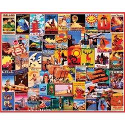 Puzzle : 1000 Pièces Vintage Collage d'affiche n°2