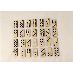 Dominos 6 : Ebène et Os