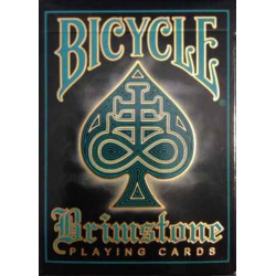 54 Cartes Bicycle Brimstone Aqua