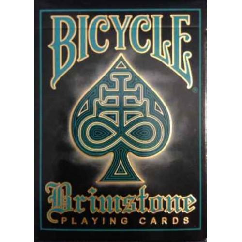 54 Cartes Bicycle Brimstone Aqua