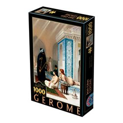Puzzle : 1000 pièces - Gérome- Bassin dans le Harem