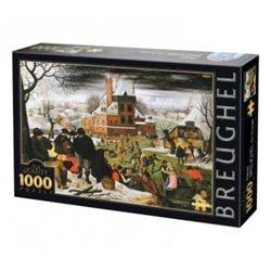 Puzzle : 1000 pièces - Brueghel - Hiver