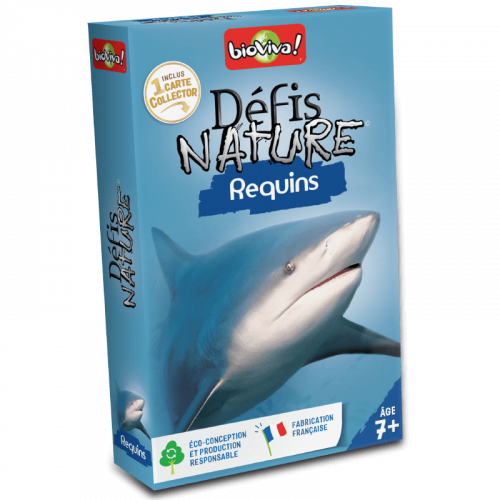 Défis Nature : Requins