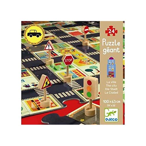 Puzzle Géant : 24 pièces - La Ville