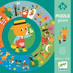 Puzzle Géant : 24 pièces - L'année