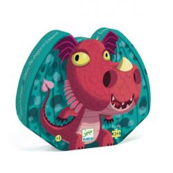 Puzzle : 24 pièces - Edmond le Dragon