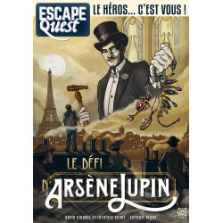 Escape Quest : le Défi Arsène Lupin