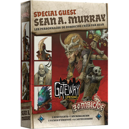 Zombicide Black Plague : Special Guest Sean A. Murray