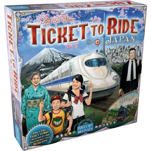 Aventuriers du Rail : Italie/Japon