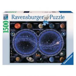 Puzzle : 1500 pièces - Planisphère céleste