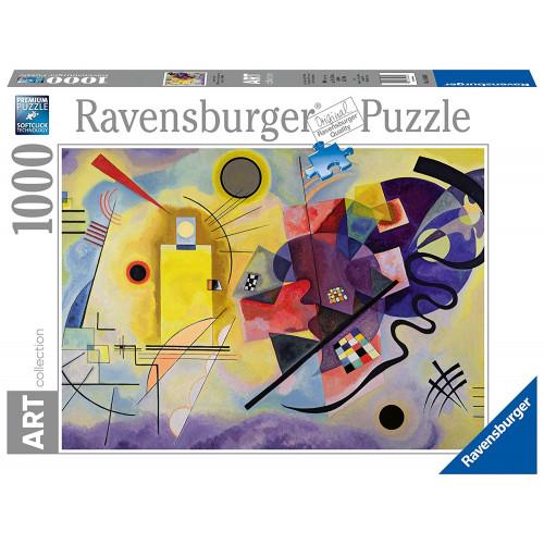 Puzzle : 1000 pièces - Jaune-rouge-bleu - Vassily Kandinsky