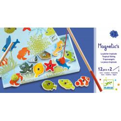 Pêche Magnétique : Poissons de couleur