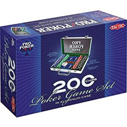 """Poker : Malette de 200 Jetons """"Dice"""""""