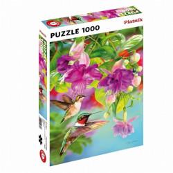 Puzzle : 1000 pièces : Colibris