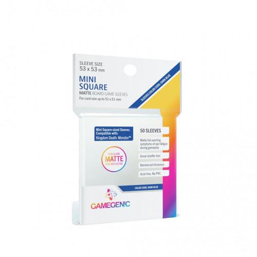 Protège Cartes : 51x51mm - Dos Mat - Gamegenic
