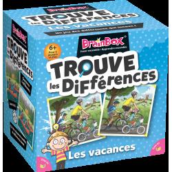 Brain Box : Trouve les Diférrences : Vacances