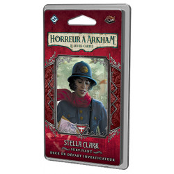Horreur à Arkham JCE : deck investigateur Stella Clark