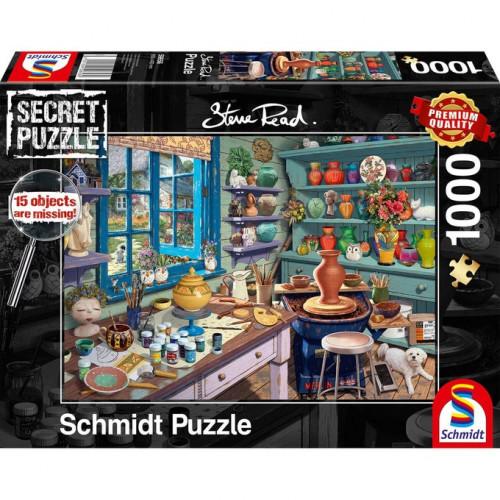 Puzzle : 1000 pièces - Atelier d'artiste