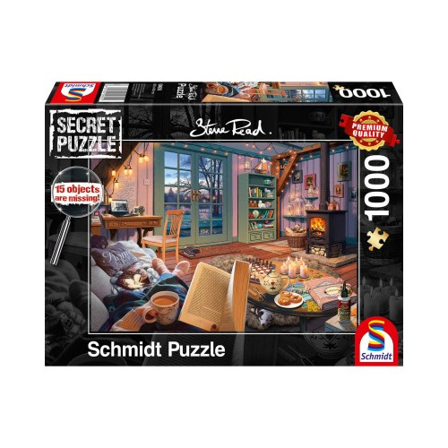 Puzzle : 1000 pièces - Maison de vacances