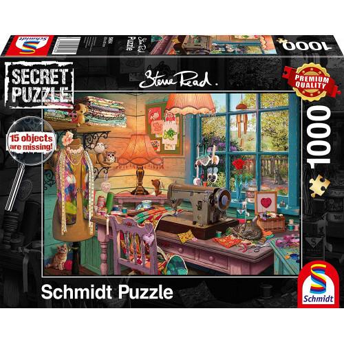 Puzzle : 1000 pièces - Atelier de couture