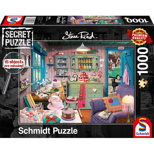 Puzzle : 1000 pièces - Chez Mamie
