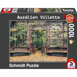 Puzzle 1000 pièces : Fenêtre Urbex - Vilette