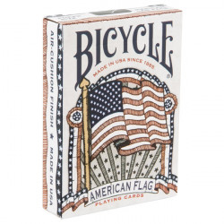 54 Cartes Bicycle American Flag