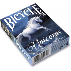 54 Cartes Bicycle Anne Stokes Unicorns