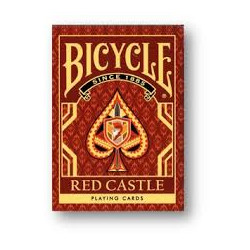 54 Cartes Bicycle Red Castle