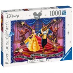 Puzzle 1000 pièces : La Belle et la Bête (Collection Disney)