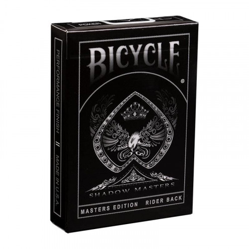 54 Cartes Bicycle Shadow Master