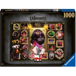 Puzzle : 1000 pièces - Ratigan (Collection Disney Villainous)