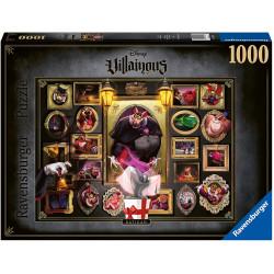 Puzzle : 1000 pièces - Ratigan (Collection Disney Villainous)
