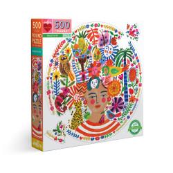 Puzzle : 500 pièces Rond - Positivity