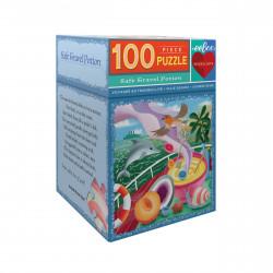 Puzzle : 100 pièces : Voyager en tranquilité