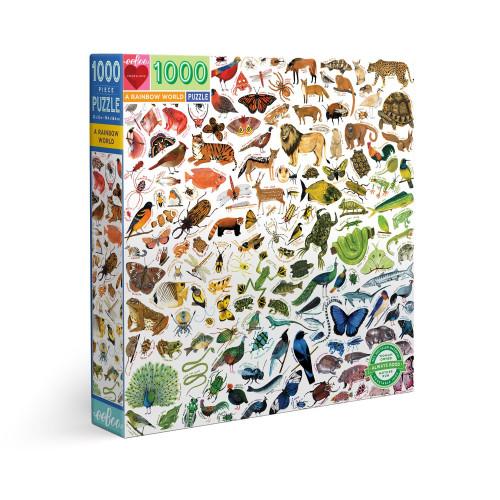 Puzzle : 1000 pièces - A Rainbow World