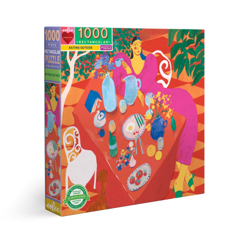 Puzzle : 1000 pièces - Eating Outside