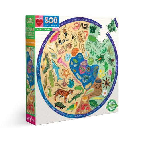 Puzzle : 500 pièces rond - Biodiversity