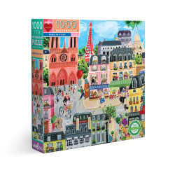 Puzzle : 1000 pièces - Paris in a Day